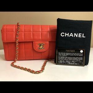 cb4ec482681b Chanel Chocolate Bar East West Clutch/Shoulder Bag
